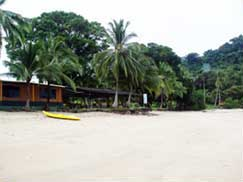 ANAM on Isla Coiba, Panam