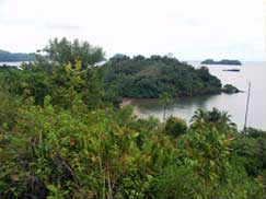 View of Coiba National Park, Panama